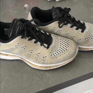 lululemon athletica Shoes - Perfect Lululemon APLs gold, silver and black!